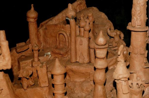 Скульптуры в Большой Орешной пещере